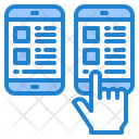 Mobile Layout Smartphone Mobilephone Icon