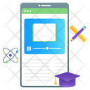Mobile Learning Online Learning Learning App Icon
