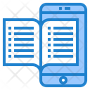 Mobile Learning Mobile Education Online Learning Icon