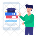 Online Learning Learning App Mobile Learning Icon
