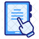 Mobile Learning Mobile Learning Icon