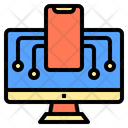 Mobile Learnning Digital Learning Icon