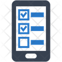 Mobile List Phone Icon