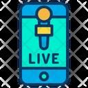 Mobile Live Icon