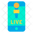 Online News Live News Mobile Icon