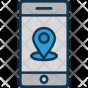 Gps Location Pin Location Pointer Icon