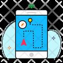 Mobile Location Location App Mobile Navigator Icon
