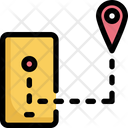 Cell Phone Map Icon