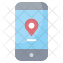 Mobile Location Icon