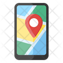 Mobile Location Pinpointer Map Location Icon