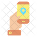 Mobile Location Icon