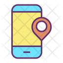 Mmobile Pin Location Mobile Location Mobile Map Icon