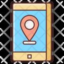 Mobile Location Online Location Location Pointer Icon