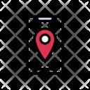 Mobile Location Phone Icon