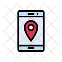 Map Mobile Location Icon