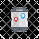 Mobile Navigation Phone Icon