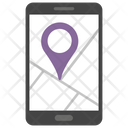 Mobile Location Mobile Navigation Location Tracker Icon