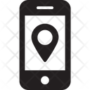 Mobile Location Mobile Pin Icon