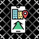 Mobile Application Navigation Icon