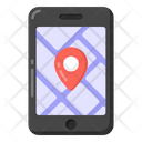 Mobile Navigation Mobile Location Phone Location Icon