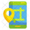 Mobile Location Map Phone Icon
