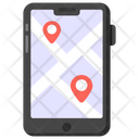 Mobile Location Online Location Online Navigation Icon
