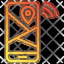 Location Share Wifi Iot Internet Icon