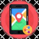 Phone Location Mobile Location Mobile Location Share Icon