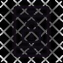 Private Lock Mobile Icon