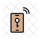 Mobile Lock Wireless Icon