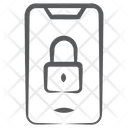 Mobile Lock Mobile Safety Smartphone Protection Icon