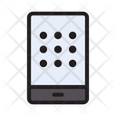 Mobile Lock Pattern Icon