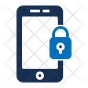 Mobile Lock Cell Lock Mobile Password Icon