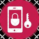 Mobile Lock Password Access Password Key Icon