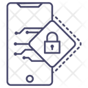 Mobile Lock Mobile Security Mobile Protection Icon