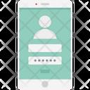 Mobile Login Icon
