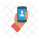 Login Mobile Phone Icon