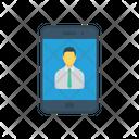 Login Account Mobile Icon