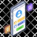 Mobile Login Profile Login Mobile Sign In Icon