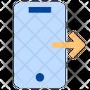 Mobile Logout Logout Exit Icon