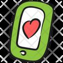 Mobile Love Favorite Mobile Mobile Likeness Icon