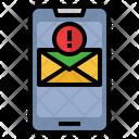 Mobile Mail Error Mail Error Email Error Icon