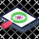 Mobile Malware Search Icon