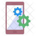 Mobile Management Icon