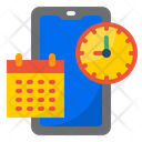Mobile Management Calendar Mobile Icon