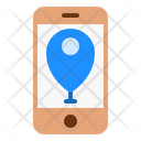 Mobile Map Map Location Icon