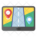 Mobile Map Online Location Map Pin Icon
