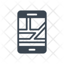 Mobile Map Phone Icon