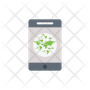 Mobile Earth Phone Icon