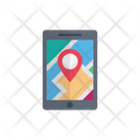 Map Mobile Phone Icon
